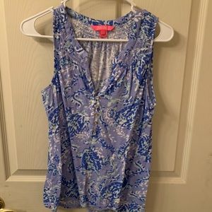 Lilly Essie tank Turtely Awesome size med